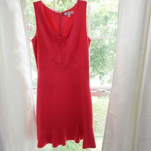 Jennifer Lopez Sleeveless Dress Size 4 Pink